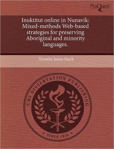 Inuktitut Online in Nunavik